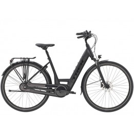 Trek District+ 6 Lowstep, Matte  Black