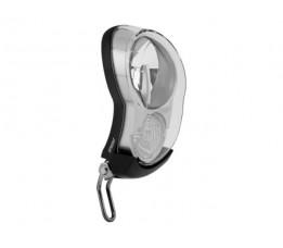 Axa Lamp V Led  Batterij Sprint 4 Lux Zwart/zilver