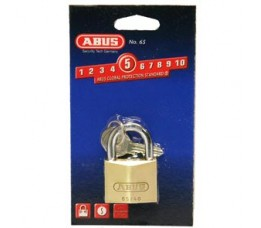 Abus Slot Hang  Koper 40mm Marine 65mb/40
