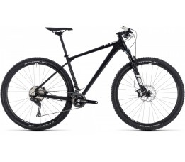 Onewaybikeindustry Cube Reaction Sl Black/white 2018, Black/white