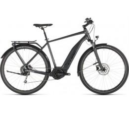 Cube Touring Hybrid 400 Iridium/black 2019, Iridium/black