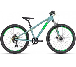 Cube Acid 240 Disc Grey/neongreen 2020, Grey/neongreen