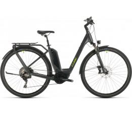 Cube Touring Hybrid Exc 500 Iridi/green 2020, Iridium/green