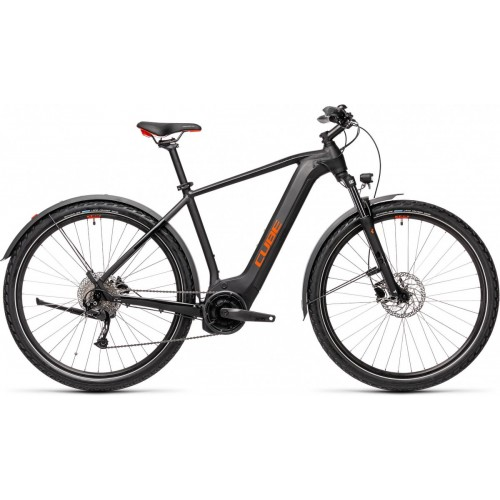 Cube Nature Hybrid One 500 Allroad Maat 58, L Black/red, Black/red