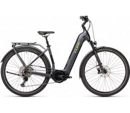 Cube Touring Hybrid Exc 500 Iridium/green 2021, Iridium/green