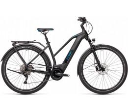 Cube Kathmandu Hybrid Pro 500 Black/blue 2021, Maat 54,, Black/blue