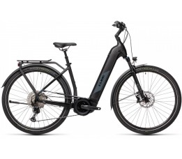 Cube Kathmandu Hybrid Exc 625 Black/grey 2021, Black/grey