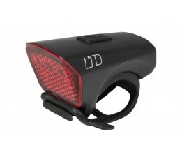 Cube Light Ltd Red Led Black