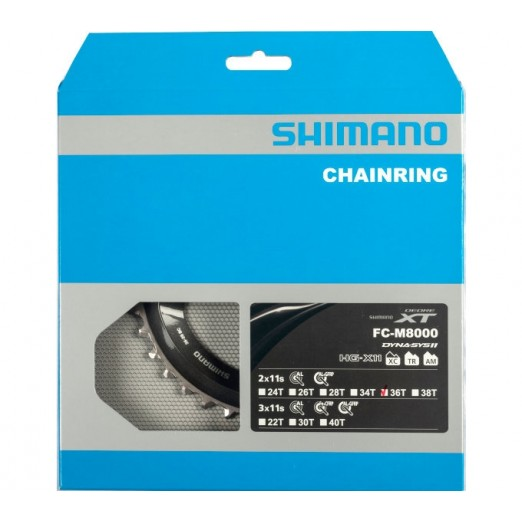 Shimano Kettingblad 36t-bc Deore Xt Fc-m8000 Voor 36-26t