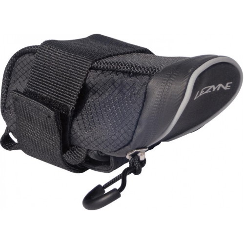 Lezyne Micro Caddy S, Neoprene Mount, Fits 1x Rd Tube, Compact - No Seatpost Strap Design