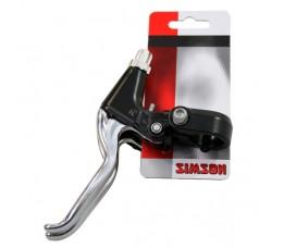 Simson Simson Remgreepset Finger Grip Aluminium Zwart