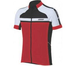 Bbb Bbw-239 Shirt K.m. Keirin Xxl Zwart/rood