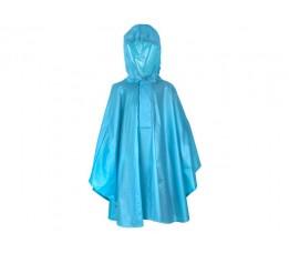 Fastrider Poncho Basic Kids Blauw 110-122